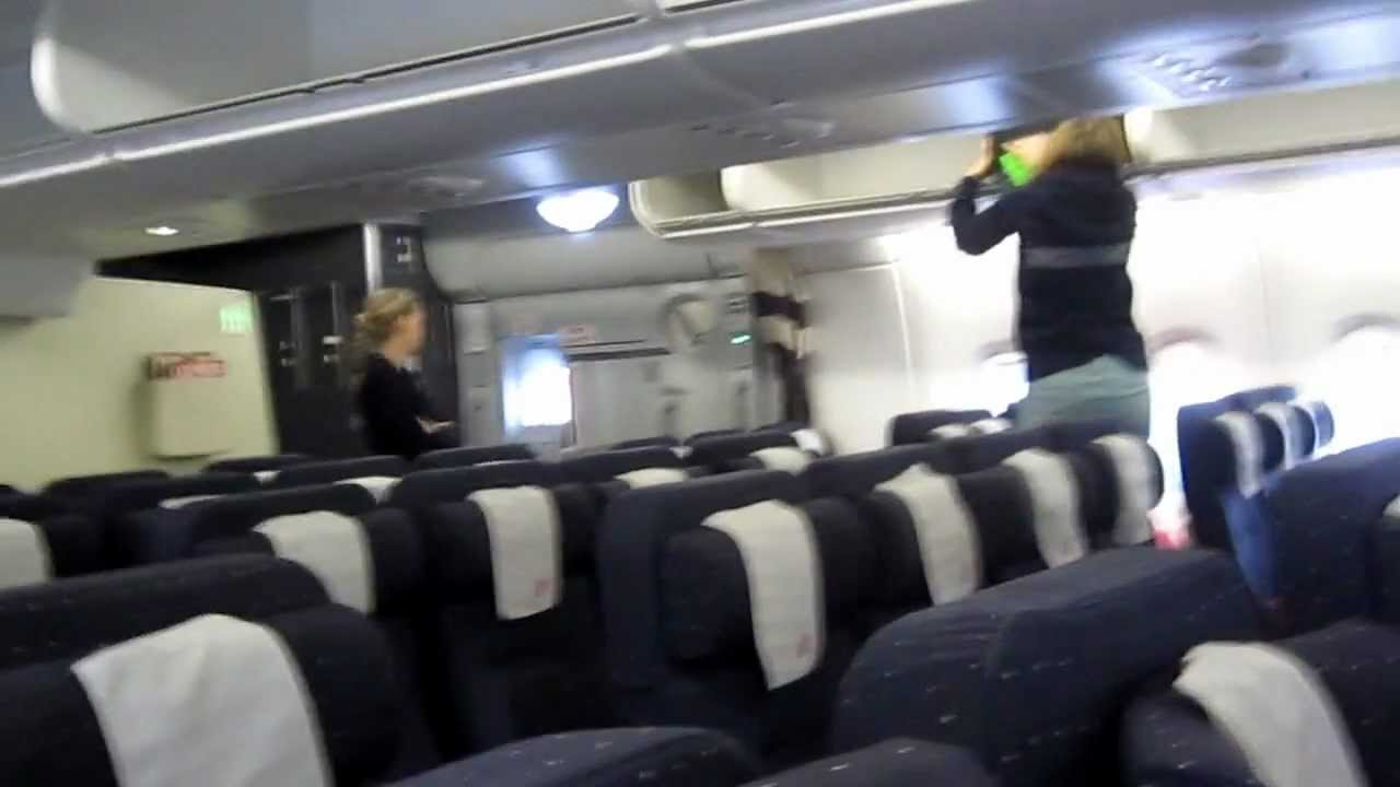 Economy Cabin Air France Airbus A380. - YouTube