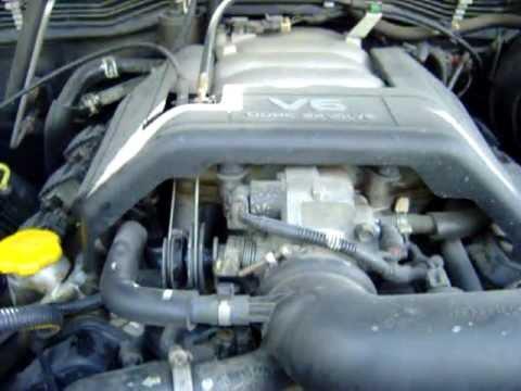 Opel Frontera V6 Motor Engine Youtube