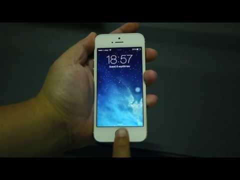 การใช้งาน TouchID บน iPhone 5s