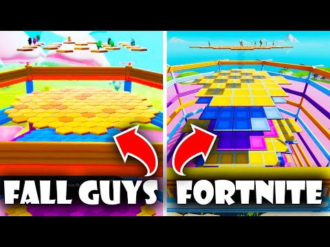 We Built Fall Guys in Fortnite!