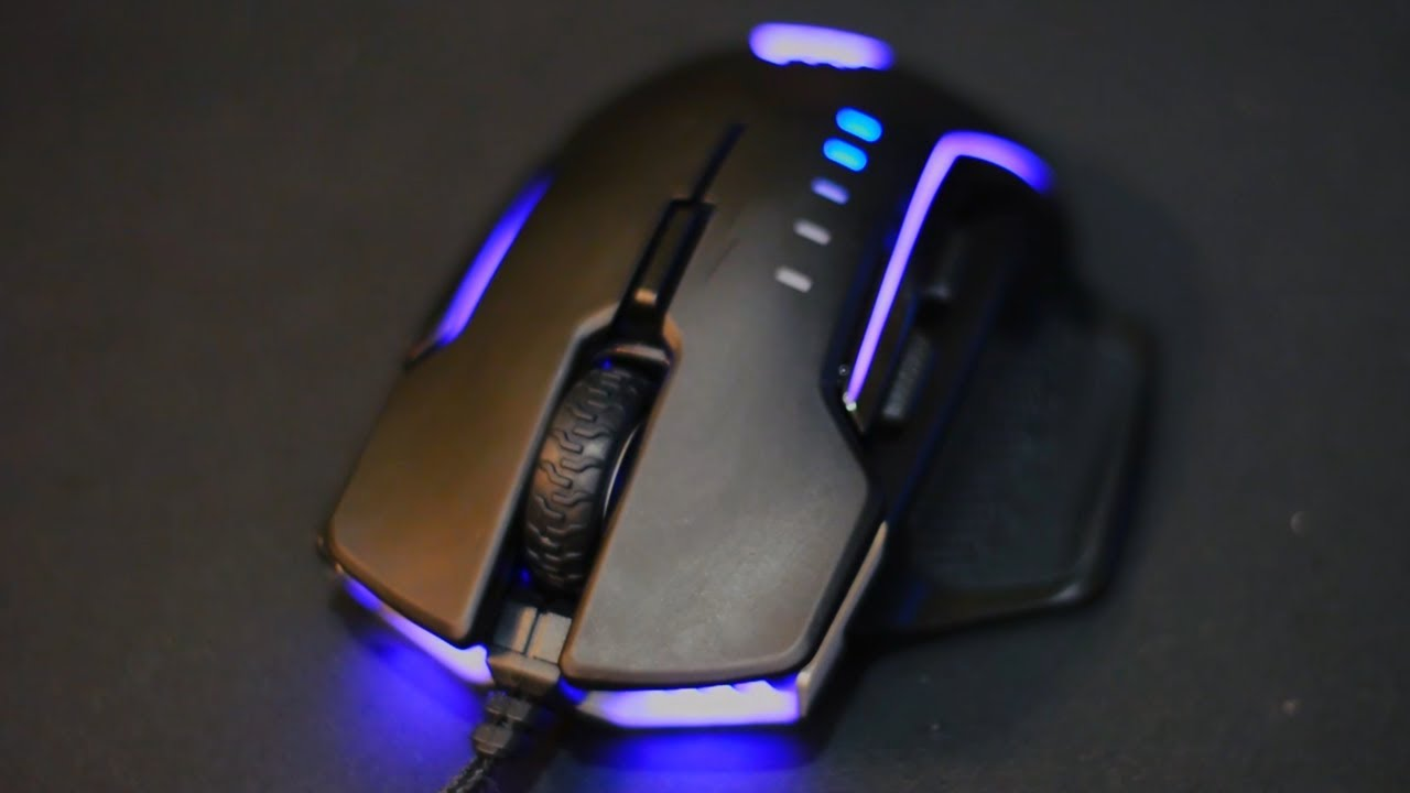 Corsair Glaive Gaming Mouse Review - The Modular One - YouTube