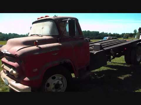 1956 Chevy Truck Barn Find Car Hauler