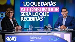 """""""El poder de innovar"""" con Gaby Castellanos e Ismael Cala"""