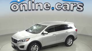 A99501NC New 2018 Kia Sorento LX AWD SUV Silver Test Drive, Review, For Sale