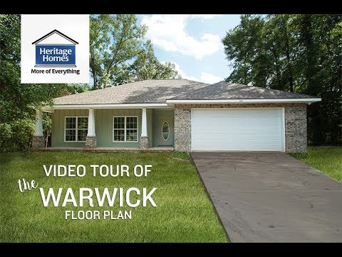 Heritage Homes - The Warwick - Video Tour