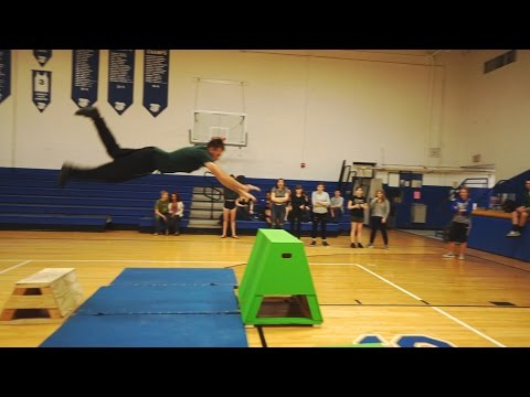 Teaching Parkour at a High School Gym Class in Ohio