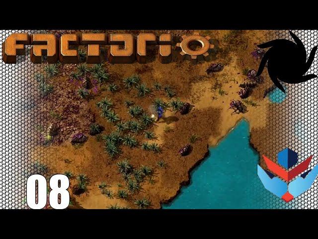 Factorio 1.0 Multiplayer 1K SPM Challenge - 08 - Biter Battles