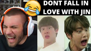 Baixar I LOST!!! Don't fall in love with JIN (김석진 BTS) Challenge! - Reaction