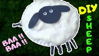 How To Make Paper Plate Sheep | 2 Years Old Singing Baa Baa Black Sheep