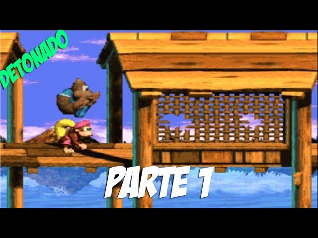 Donkey Kong Country 3: Dixie Kong's Double Trouble - Parte 1