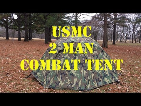USMC 2 Man Combat Tent