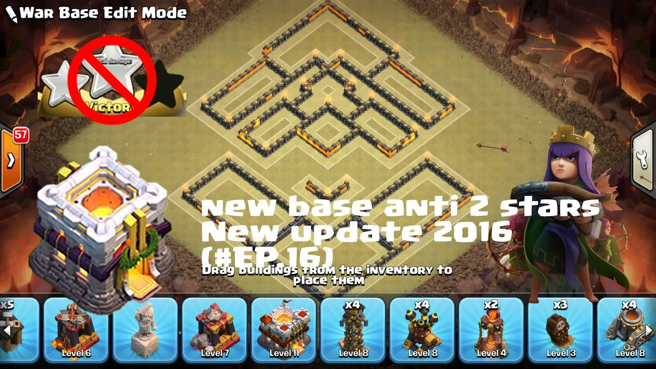 CHAMPION LEAGUE - NEW TH11 BASE - ANTI 2 STARS FARMING/TROOPHY/WARCLANS - CLASH OF CLANS(EP.16 ...