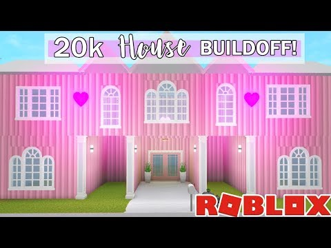 I Challenged My Best Friend To A $20K BLOXBURG HOUSE BUILDOFF!