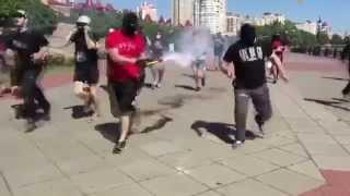 Хулиганы сорвали гей парад в Киеве
