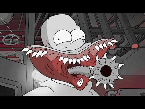 ТОП-15 Самые страшные серии в Cимпсонах на хэллоуин. Обзор на самые жуткие серии в Симпсонах.