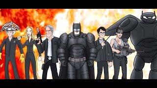 BatRap - Bat Blood -  Рэп Бетмена - Batman Vs Superman - Batman's Rap - Точка Z - Бет Кровь
