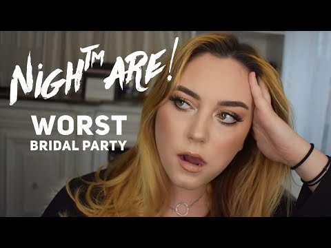 Worst Bridal Party .. EVER + GRWM | Client Stories