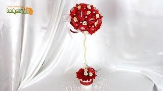 Свадебный декор ☆ Мастер-Класс ☆ ТОПИАРИЙ ☆ Поделки своими руками