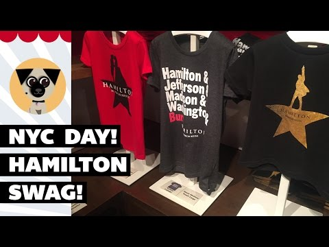 NYC Vlog: Broadway, Hamilton Swag, Disney Store & Youtube Friends!