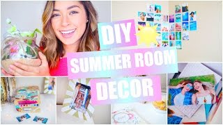 DIY Summer Room Decor - Pinterest & Tumblr Inspired