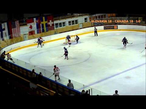 SLOVAKIA U18 - CANADA U18 / 1st period