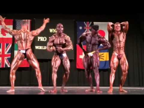 WNBF 2014 Worlds Men overall
