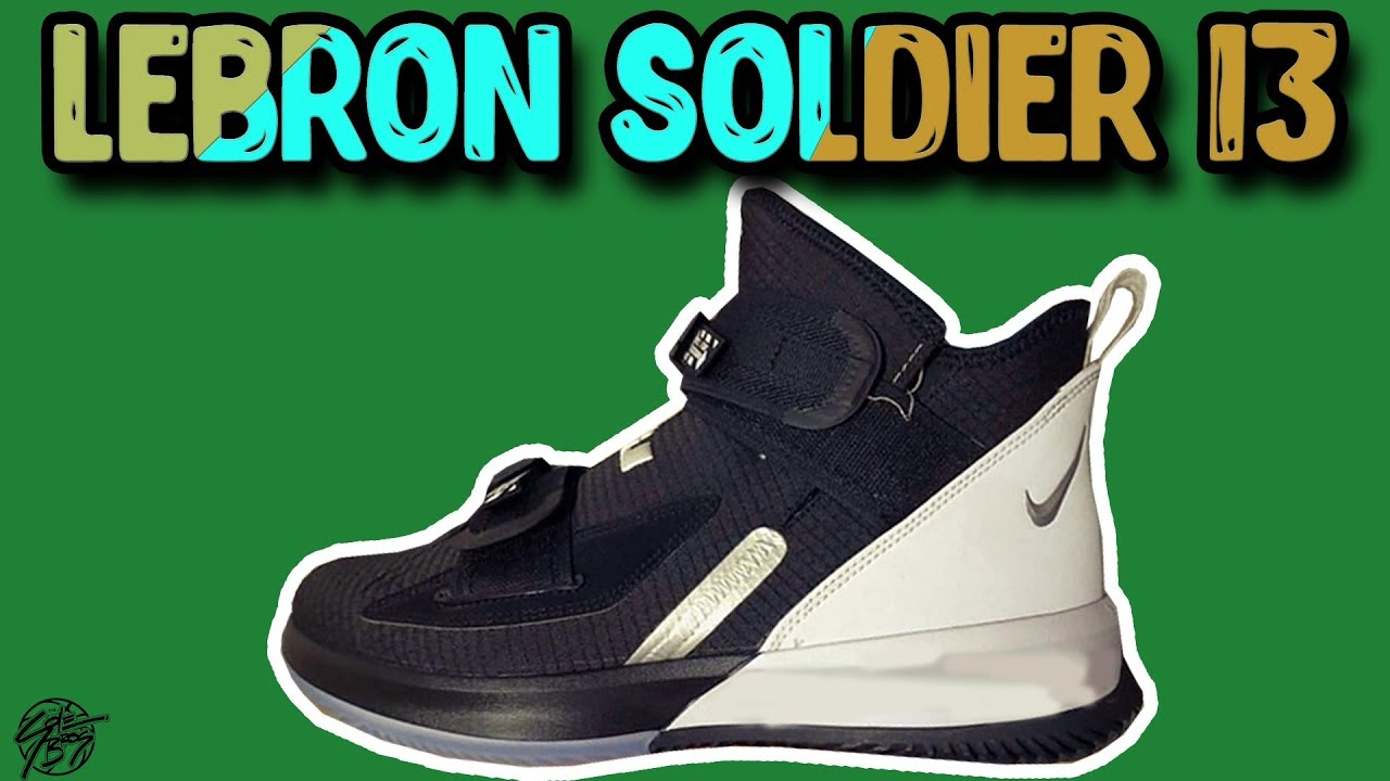 buy popular 0a6b3 df300 Nike Lebron Soldier 13 LEAK!