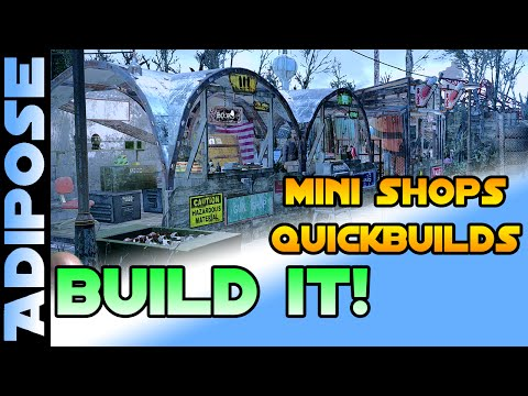 Fallout 4 - Store Setpiece Quickbuilds! - BUILD IT! #3