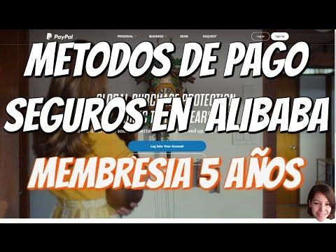 Medios de Pago Seguros Para Comprar un Producto en Alibaba o China