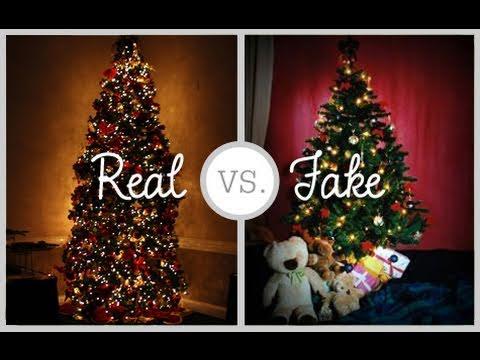 big sale 9688a d3f2f REAL OR FAKE CHRISTMAS TREE?