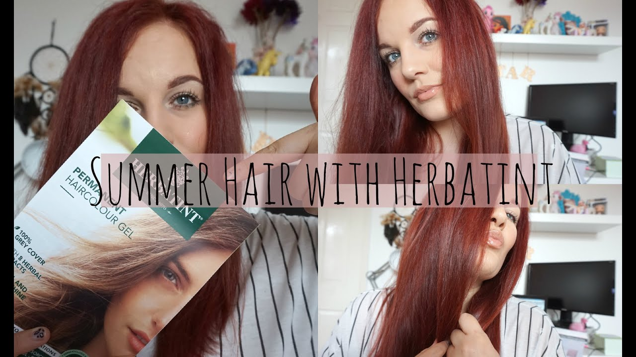 Summer Hair With Herbatint Youtube