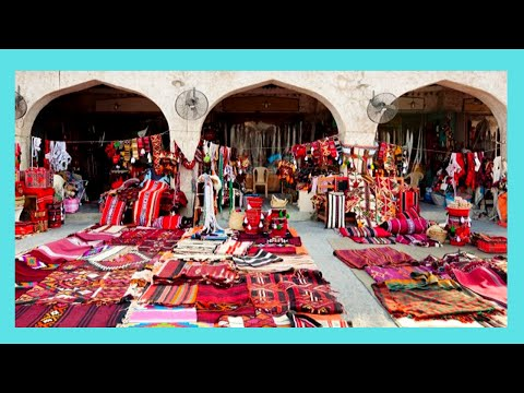 QATAR,  tour of spectacular SOUQ WAQIF the bazaar) in DOHA