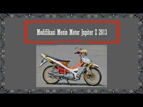 INFO OTOMOTIF - Modifikasi Mesin Motor Jupiter Z 2013
