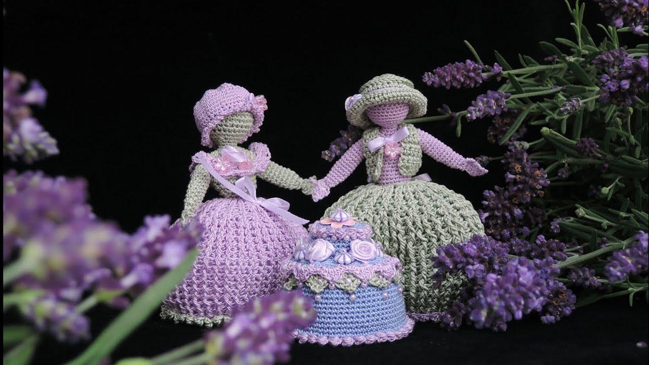 Lavendelhochzeit Puppen Dolls Häkeln Crochet Youtube