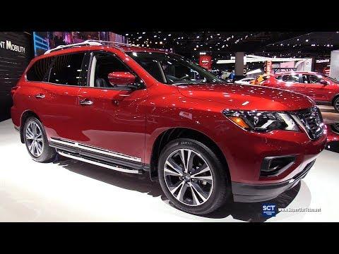 2019 Nissan Pathfinder Platinum - Exterior And Interior Walkaround - 2019 Detroit Auto Show