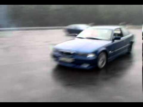 ślizganie Bmw E36 318is Niebieska I 316granatowa Youtube