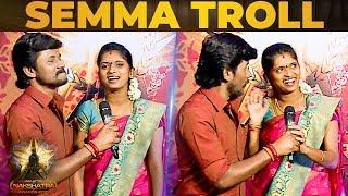 Singer Rajalakshmi Trolls Husband Senthil Ganesh About Girl Fans!