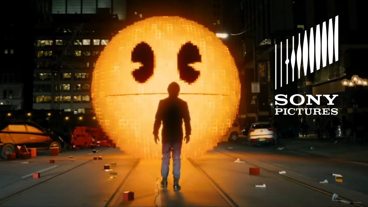 Pixels Movie Global Pac Man Celebration Youtube