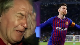 Ray Hudson Commentating Over Messi - Pure Passion