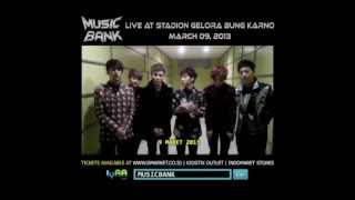 Music Bank World Tour in Jakarta - BEAST