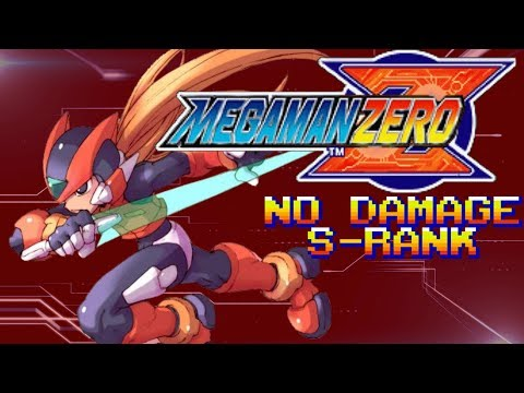 Mega Man Zero (No Damage) - Fighting Fefnir [Duel in the Desert ~ S Rank / 100 pts]