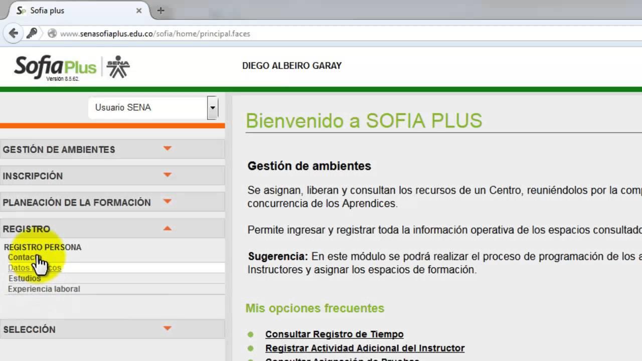 9 Como Registrar Hoja De Vida En Sofia Plus Youtube