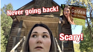 Exploring a GHOST TOWN(SCARY)