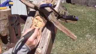 """online Lessons"" How To Wood Carve Pine Knots"