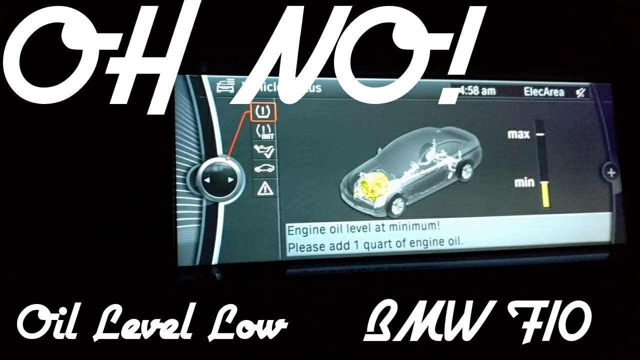 Bmw F10 535 Oil Low Don T Panic Youtube