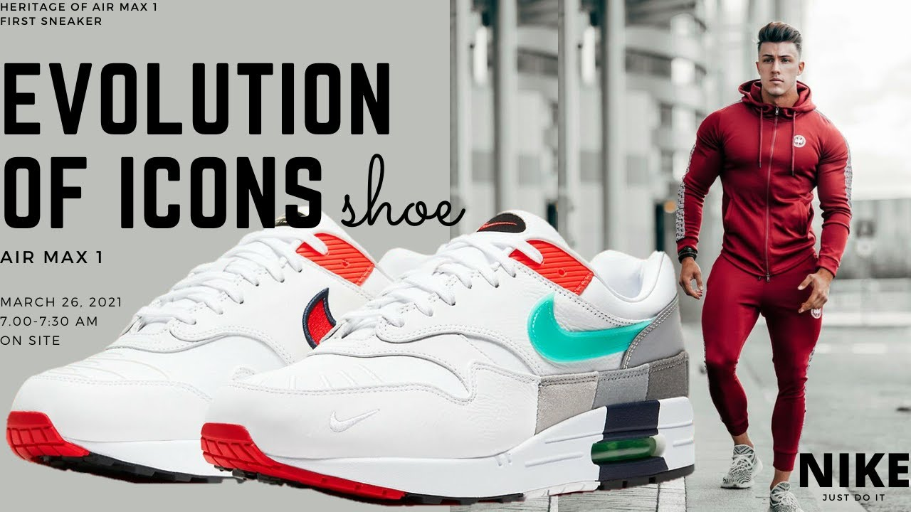 Air Max 1 Evolution of Icons|Air Max 1|Evolution of Icons|Nike Air Max 1 Evolution|indian jitawala