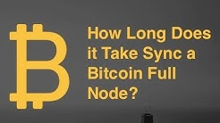 Bitcoin Blockchain Full Node Sync Time Test!