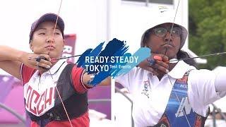 Inna Stepanova v Bari Komalika – recurve women 1st round | Tokyo 2020 Olympic Test