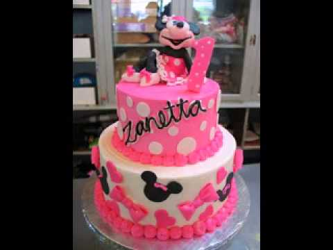 Minnie mouse cake decorations ideas YouTube