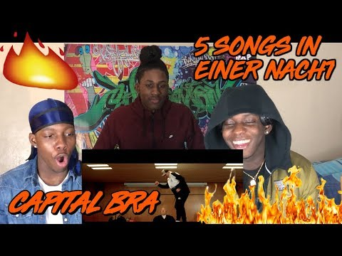 CAPITAL BRA - 5 SONGS IN EINER NACHT (PROD. THE CRATEZ) - REACTION